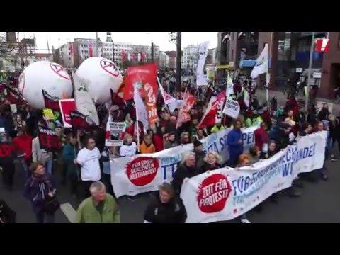 Hannover: 90.000 wollen TTIP und CETA stoppen!