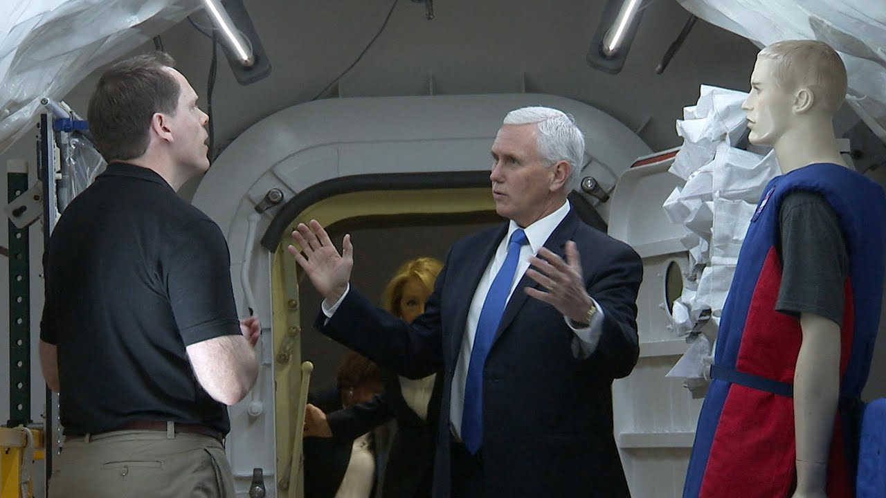 Vice President Pence Visits Langley for Artemis Update on This Week @NASA – February 21, 2020 - NASA