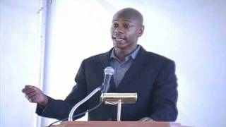 Comedian David Chappelle -  closing remarks for his late father William David Chappelle III