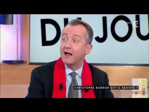 Christophe Barbier s'explique - C à vous - 12/01/2017
