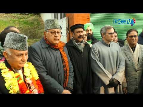 Basharat Bukhari, Peer Hussain join National Conference