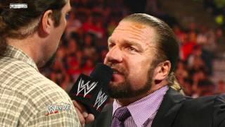 Raw - CM Punk tells Triple H and Kevin Nash of his suspicions