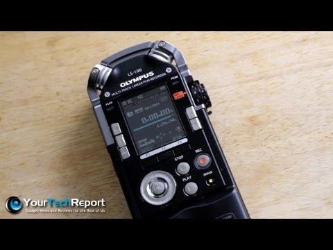 1st Impressions: The Olympus LS-100 Portable Digital Audio Recorder