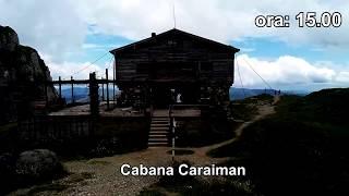 Buşteni - Cabana Caraiman - Crucea Eroilor Neamului - Sfinxul şi Babele (iulie 2017)