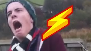 Silly people vs electric fences - a funny and electrifying fail compilation!