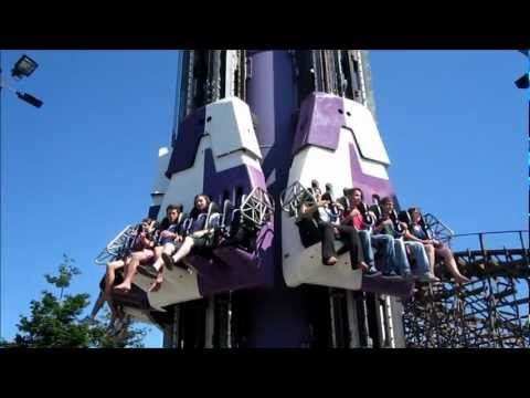 Drop Zone / Drop Tower - California Great America - POV