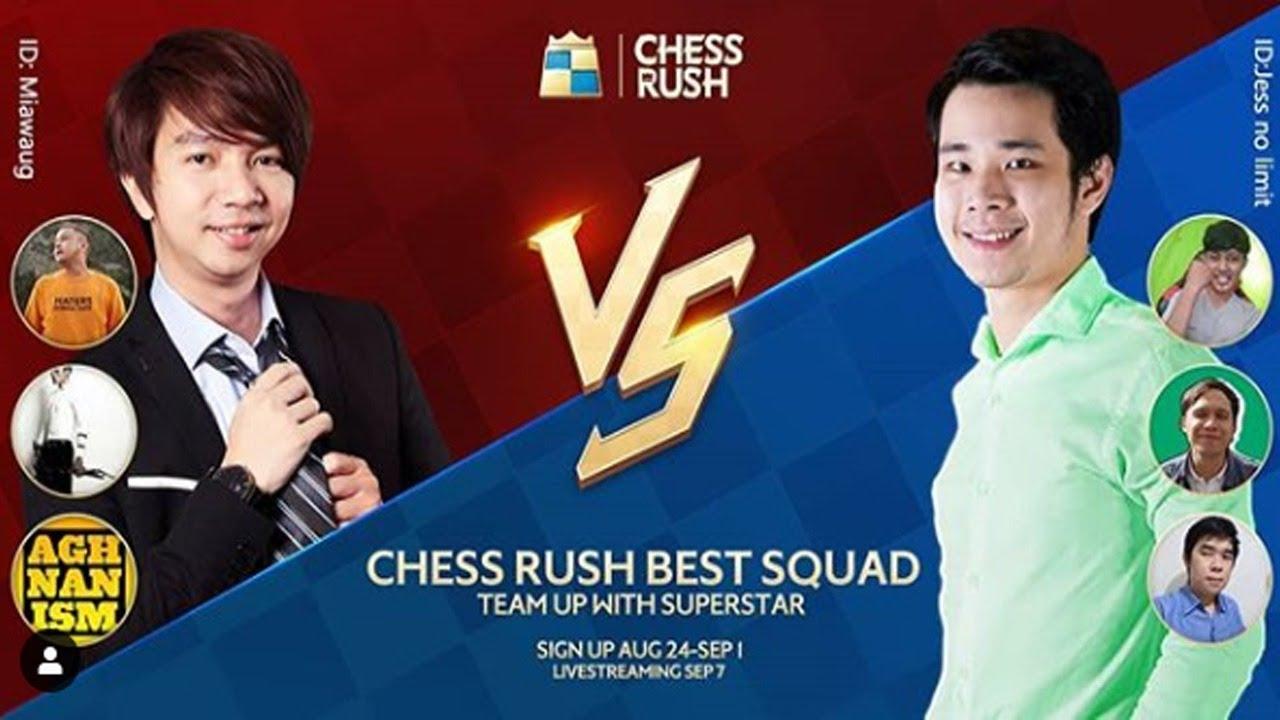 Hasil gambar untuk Battle MiawAug VS JessNoLimit - Chess Rush Indonesia