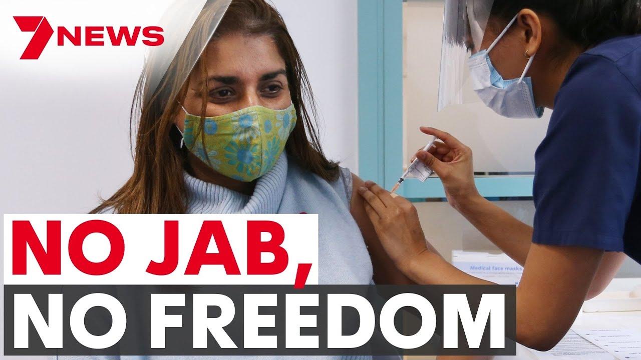 Australian COVID Update | NO JAB, NO FREEDOM | 7NEWS