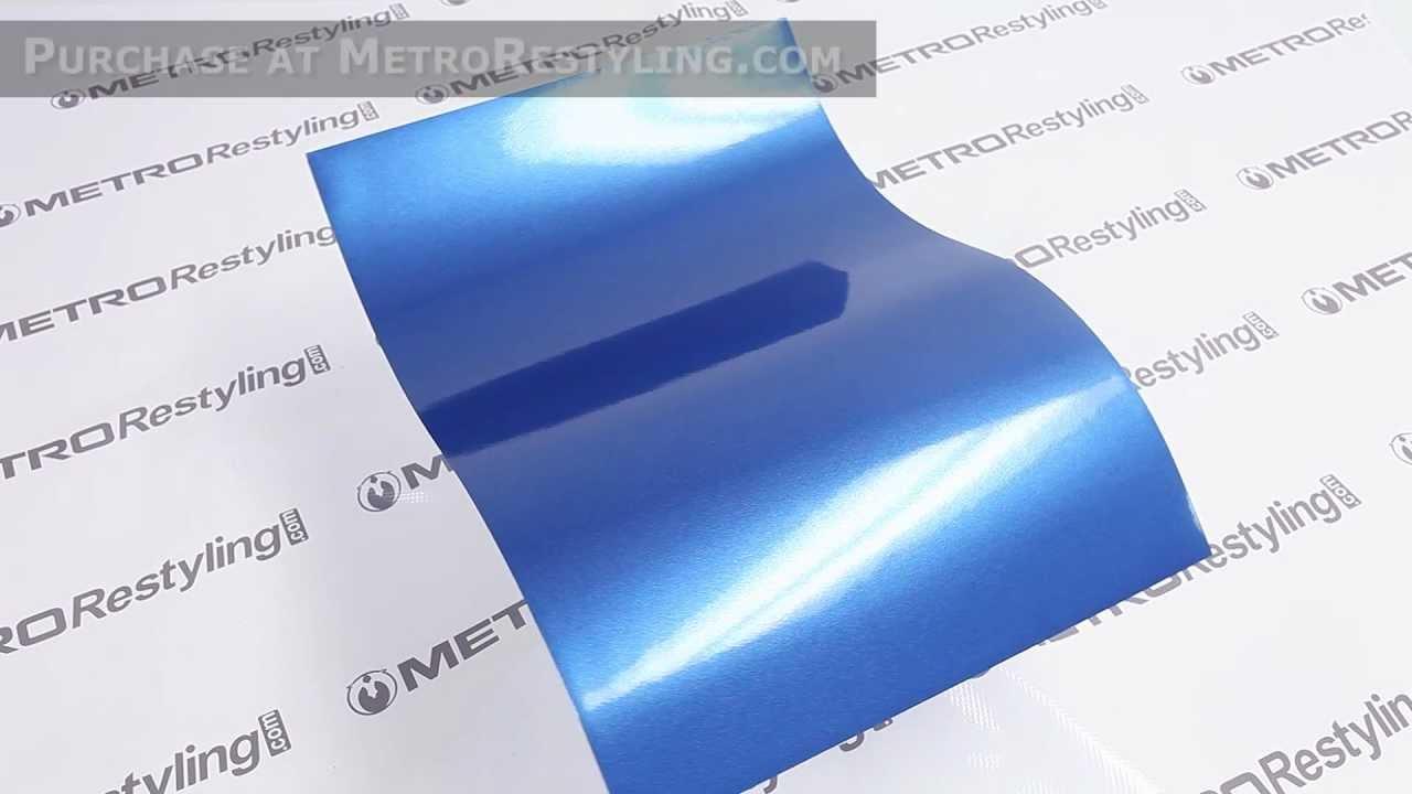 3m Scotchprint Wrap Film Series 1080 Gloss Blue Metallic
