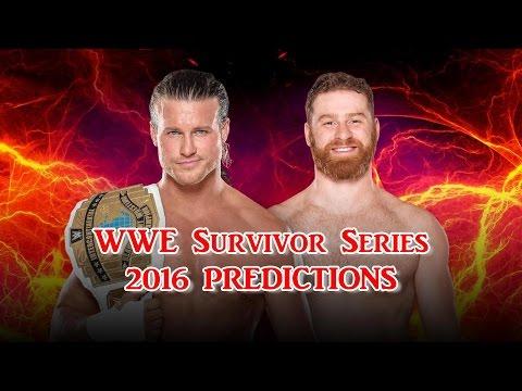 WWE Survivor Series 2016 Intercontinental Championship Dolph Ziggler vs. Sami Zayn Predictions