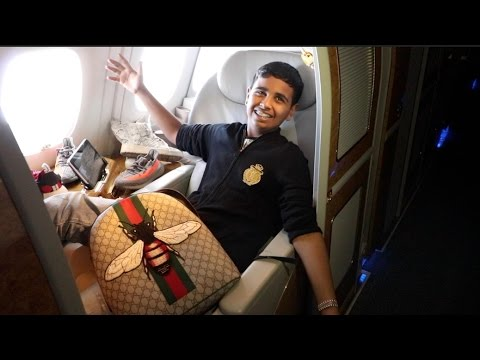 Thumbnail: 15 YEAR OLD FLYS ON $30,000 FIRST CLASS FLIGHT
