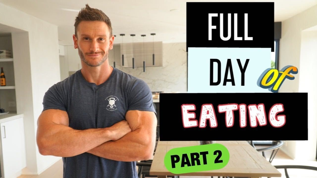 Full Day of Intermittent Fasting Part 2 - Breaking the Fast and Nighttime Routine