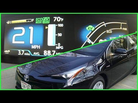 Prius: EV Mode Explained