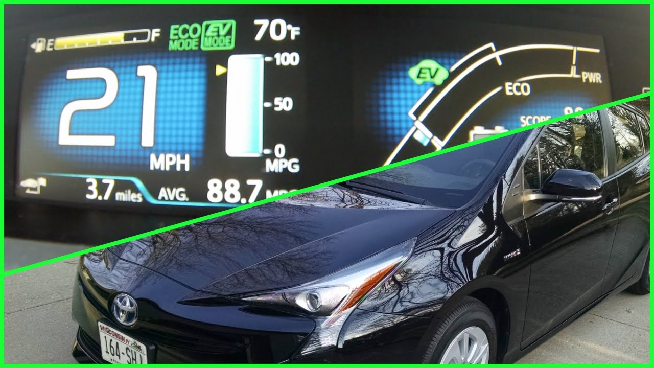 Prius Ev Mode Explained