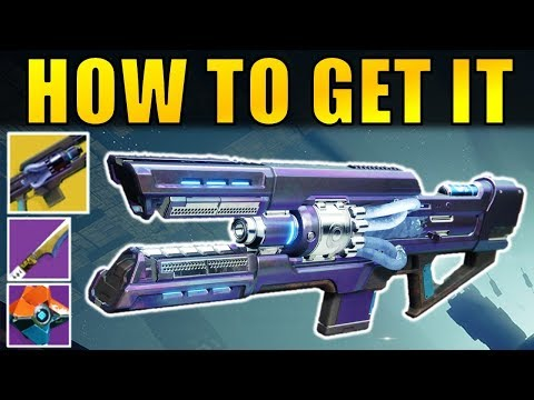 Destiny 2: How to Get the Coldheart Exotic Trace Rifle & Other Pre Order Gear!