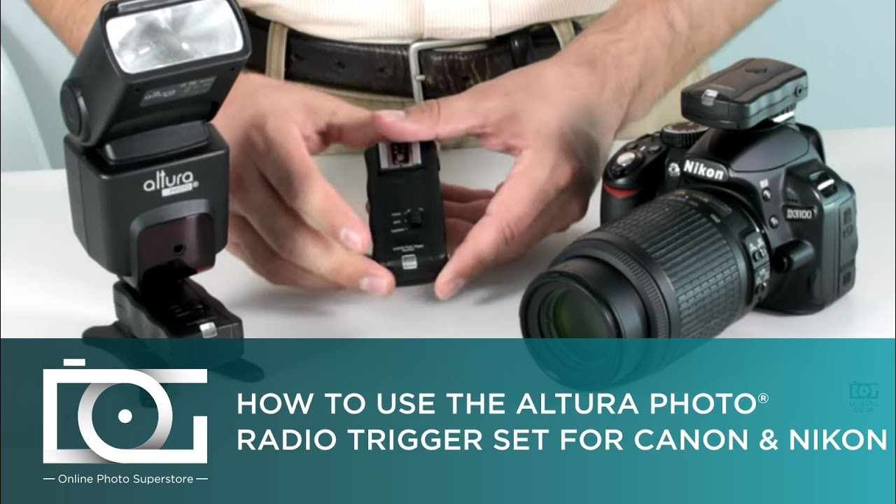 Tutorial How To Use A Wireless Trigger Receiver Set From Altura