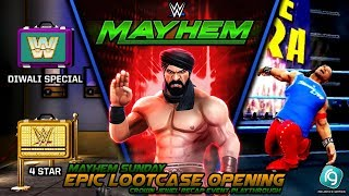 WWE Mayhem | EPIC Lootcase Opening | Crown Jewel Recap Event Playthrough
