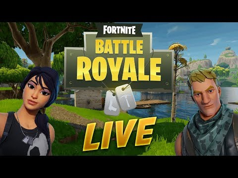 Checking out the NEW LEGENDARY Heavy Shotgun and Releasing Our Inner Ninja!   Fortnite Live GamePlay