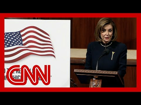 Nancy Pelosi: Trump 'an ongoing threat to our national security'