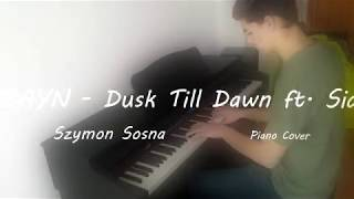 ZAYN - Dusk Till Dawn ft. Sia Piano