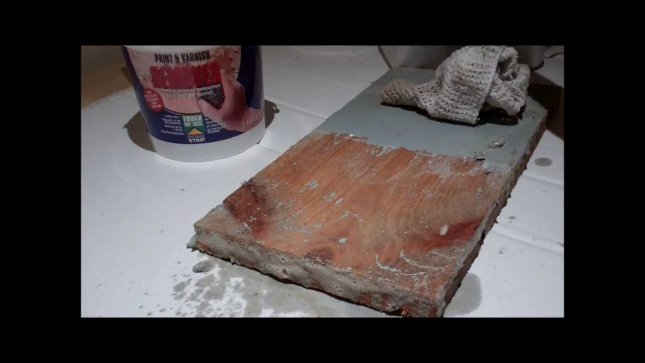 How to remove paint safely - Demo on Two Pack Floor Paint - How To Remove Paint Safely - Demo On Two Pack Floor Paint - YouTube
