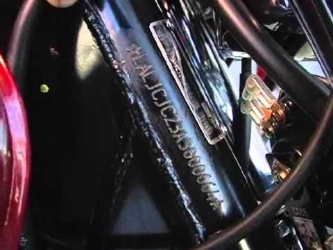 Vin Kawasaki Motorcycle