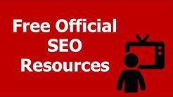 Free Official SEO Resources: Official Learning Search Engine Optimization Guides