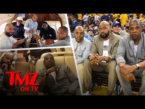 Jay Z And Kevin Hart – Ballers At NBA Finals! | TMZ TV