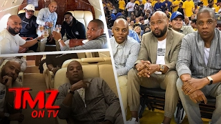 Jay Z And Kevin Hart – Ballers At NBA Finals! | TMZ TV