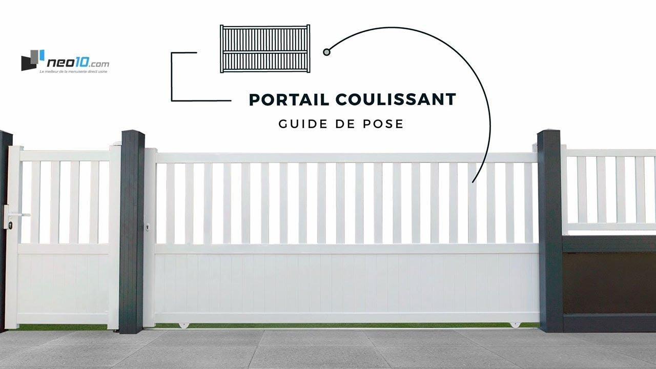 Portail Coulissant Aluminium Guide De Pose V1