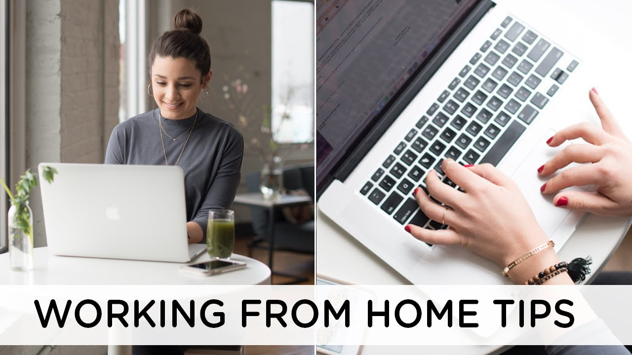 WORKING FROM HOME TIPS ‣‣ how to stay focused