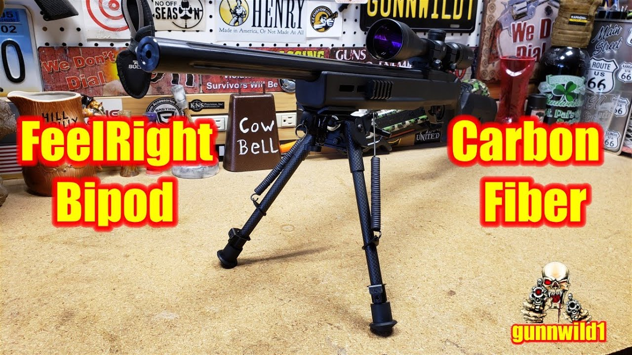 Carbon Fiber bipod by FeelRight