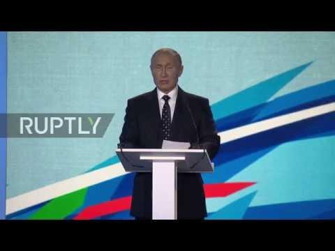 Russia: Putin makes call for 'pure' sport outside of politics