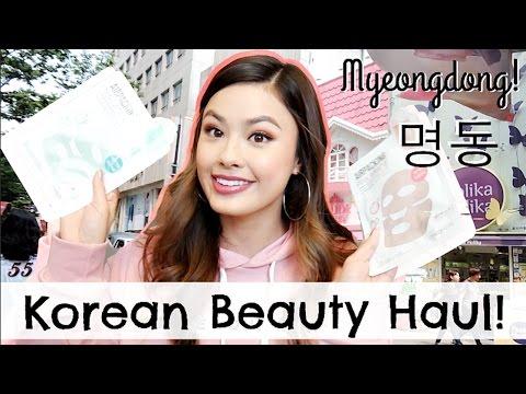 MY KOREAN BEAUTY HAUL from Myeongdong (명동) Seoul, South Korea