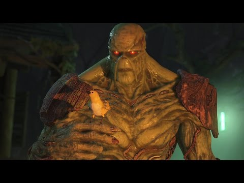 Injustice 2 : Swamp Thing All Intro Dialogues