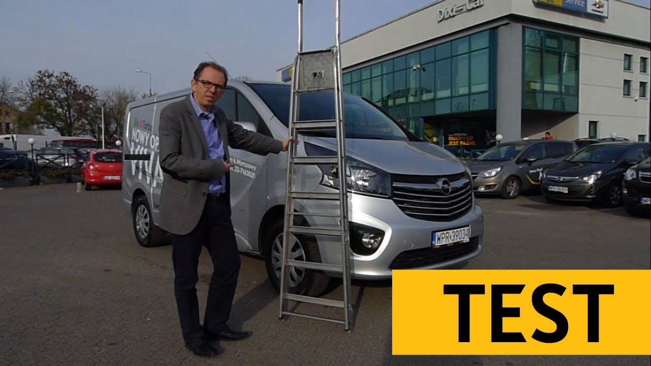 nowy opel vivaro 1 6 biturbo test opinie dixi car youtube. Black Bedroom Furniture Sets. Home Design Ideas