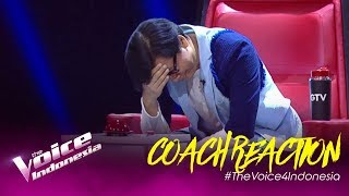 Download lagu Halo Coach Armand! SUPRISEEEEEE!!! | COACH REACTION | The Voice Indonesia GTV 2019