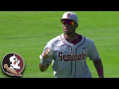 FSU's Flowers Makes Incredible Diving Catch