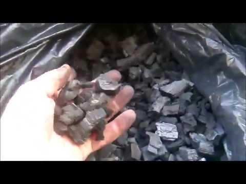 Изготовление древесного угля в домашних условиях, сравнение угля