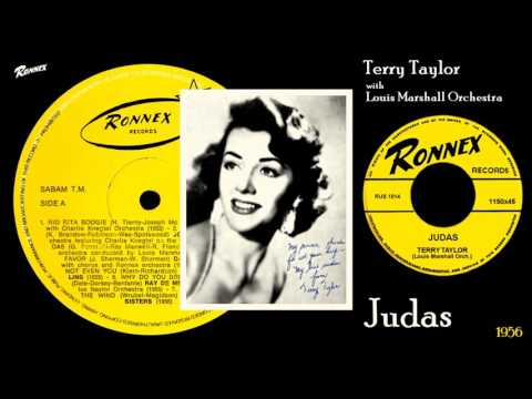 Terry Taylor with Louis Marshall Orchestra - Judas (1956)
