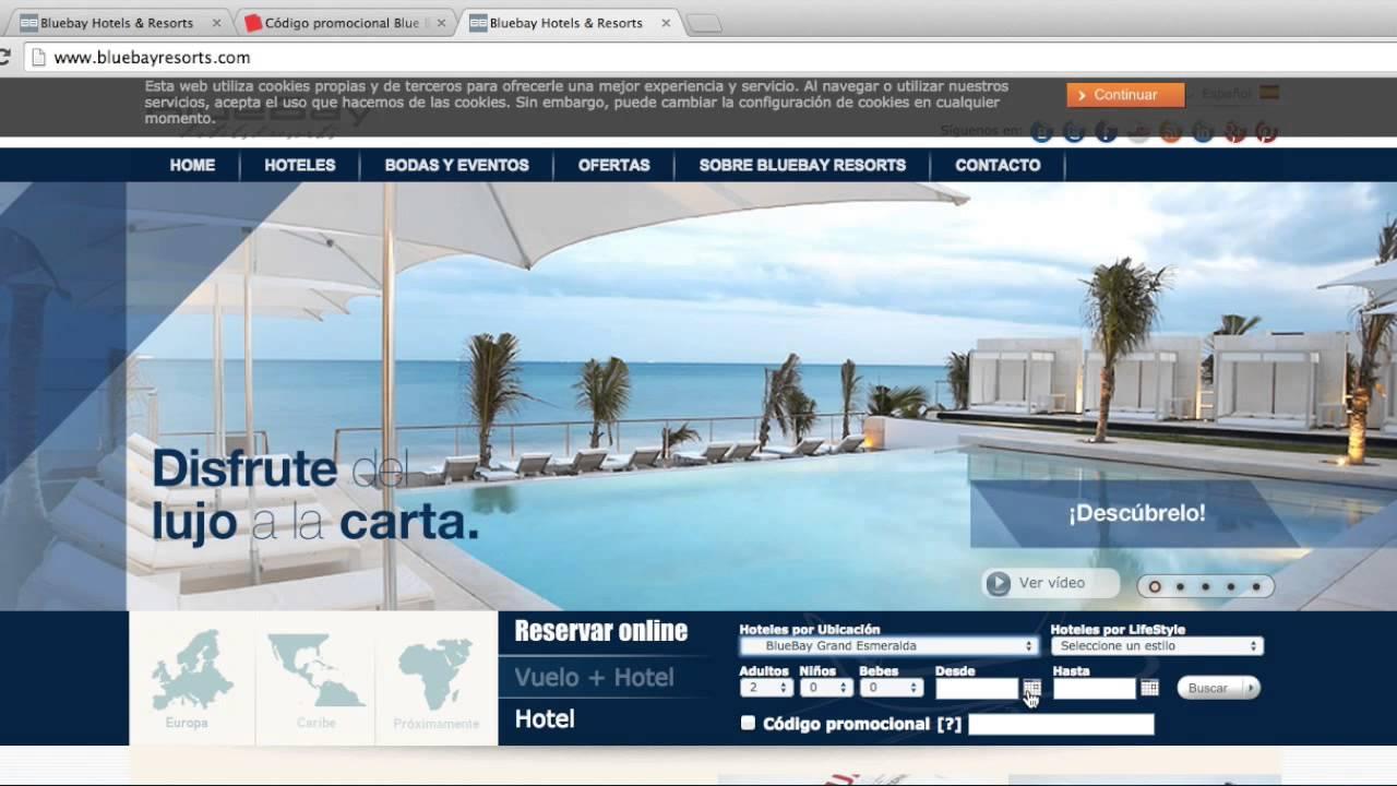 Código Promocional Blue Bay Resorts 2021 Turbocupones