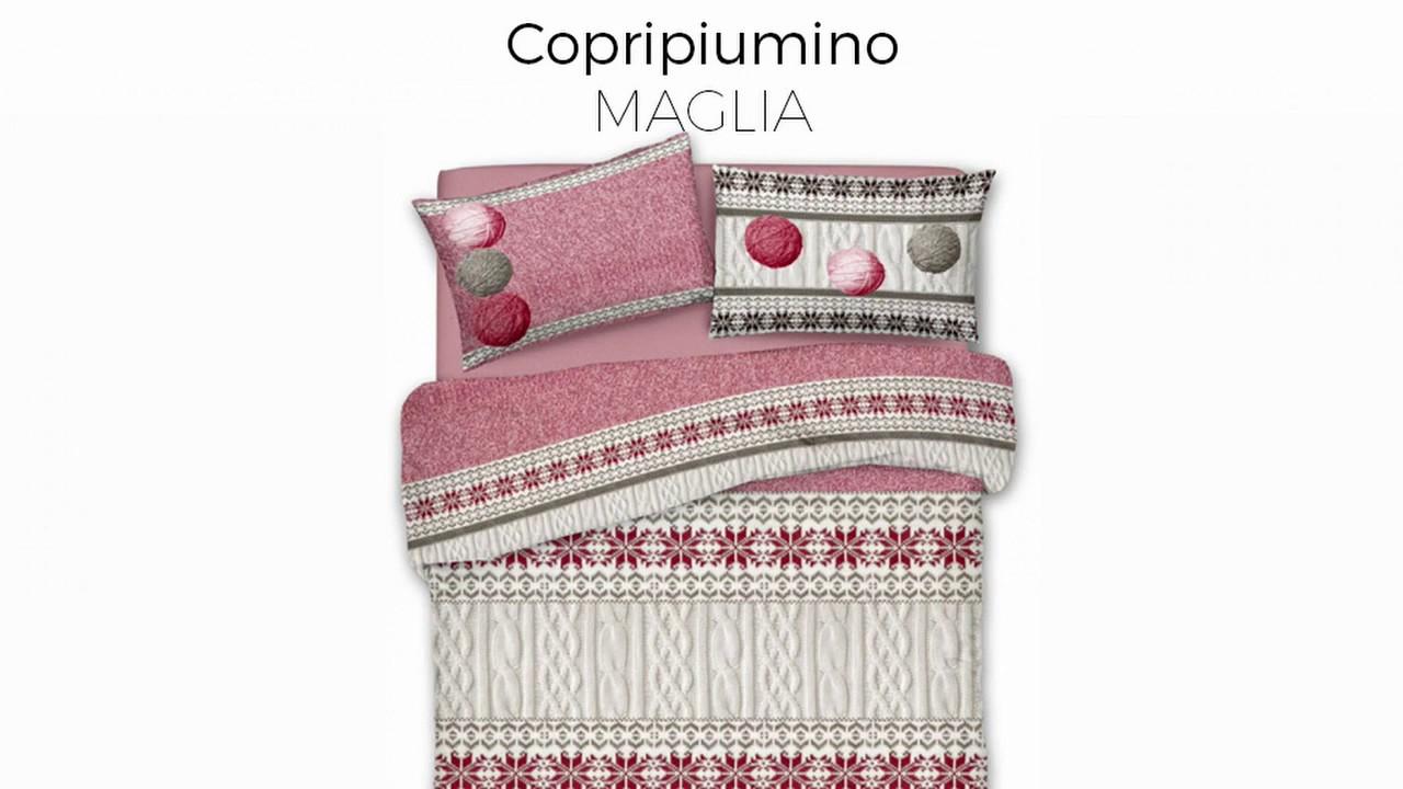 Tutorial Copripiumino.Copripiumino In 100 Cotone Linea Pensieri Delicati Disegno Maglia