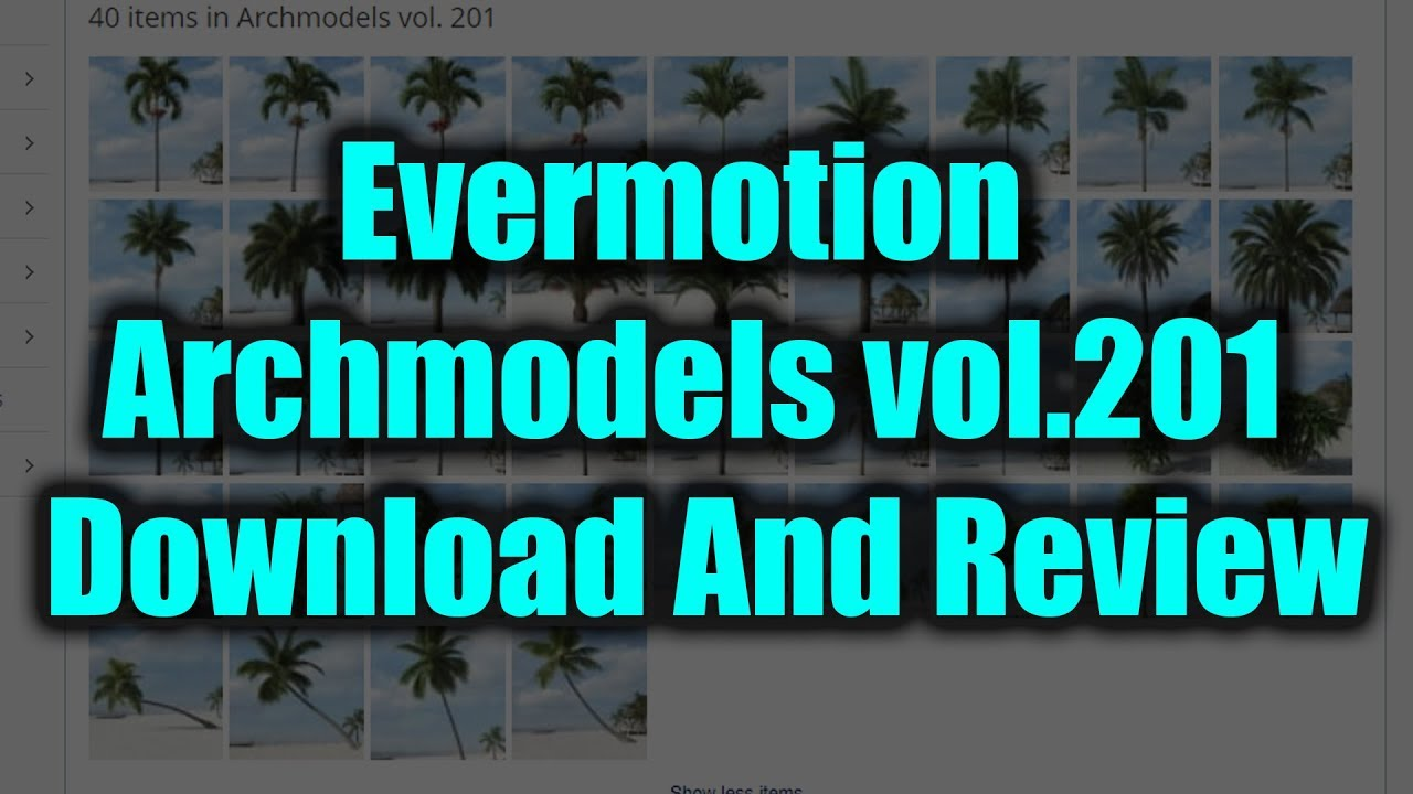 Evermotion Archmodels vol 201 Download And Review