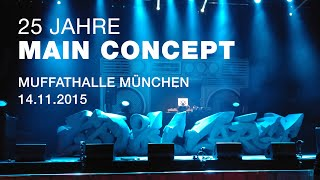 25 JAHRE MAIN CONCEPT - 14.11.2015