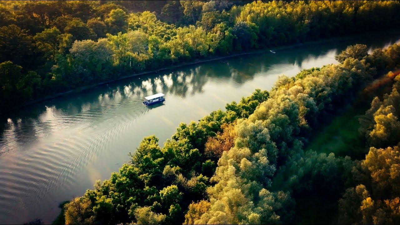 Profesionalno snimanje dronom - Reka Tamiš - 4K