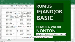 Basic: Rumus If And Dan Or Pada Excel