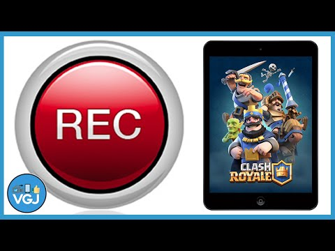 How To Record Clash Royale On IPhone Or IPad - IOS Screen Recording