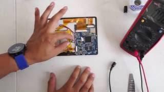 Reparacion Tablet China, como localizar las fallas de entrada de corriente