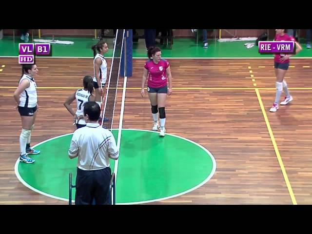 Fortitudo Rieti vs Volleyfriends Roma - 3° Set