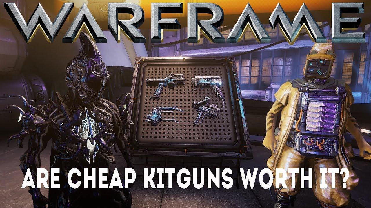 Warframe: Are cheap Kitguns worth it? (Update/Hotfix 24 2 8+)